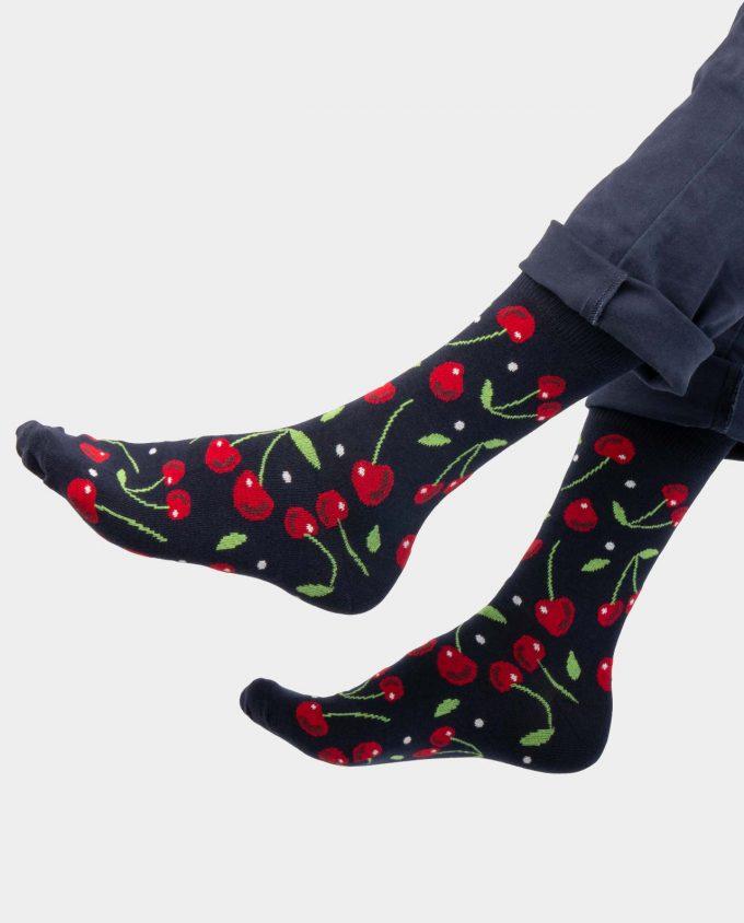 Cherry kojinės, ant koju kvepiančios spalvotos kojinės, OhSox
