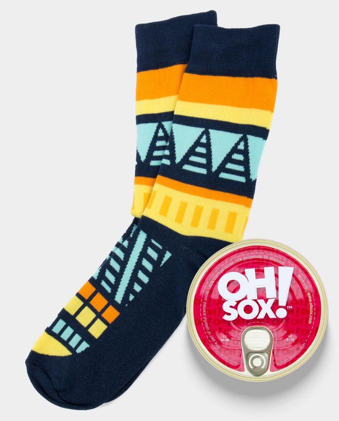 Oh Sox Colorful scented socks From Dusk Till Dawn Kvepiančios kojinės