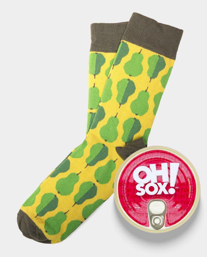 Oh Sox Colorful socks Pair of Pairs kvepiančios kojinės