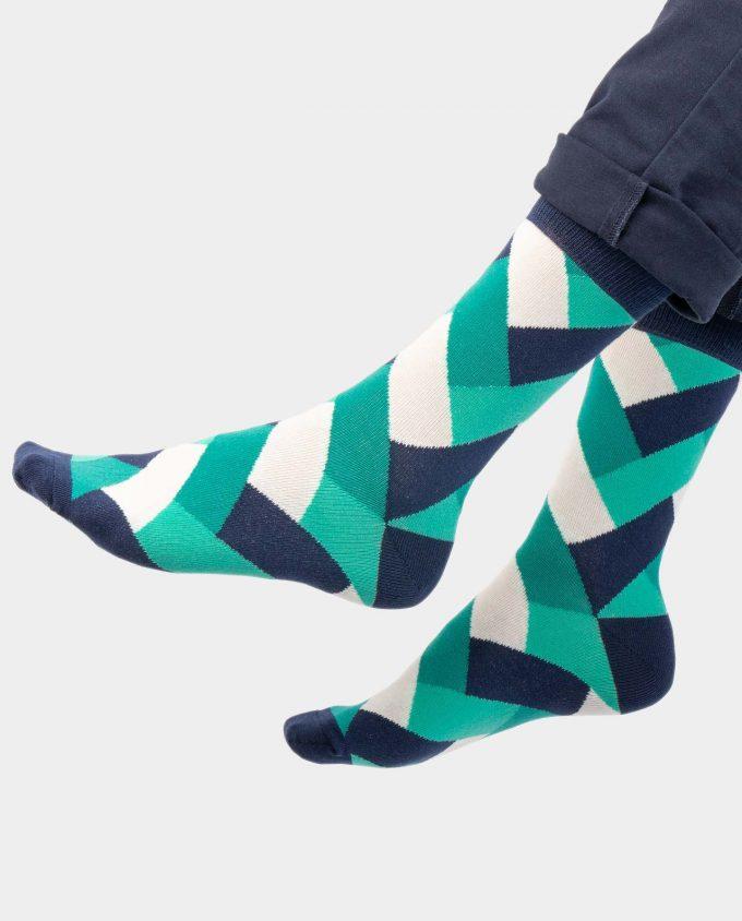 Fresh MInt kojinės, ant koju kvepiančios spalvotos kojinės, OhSox