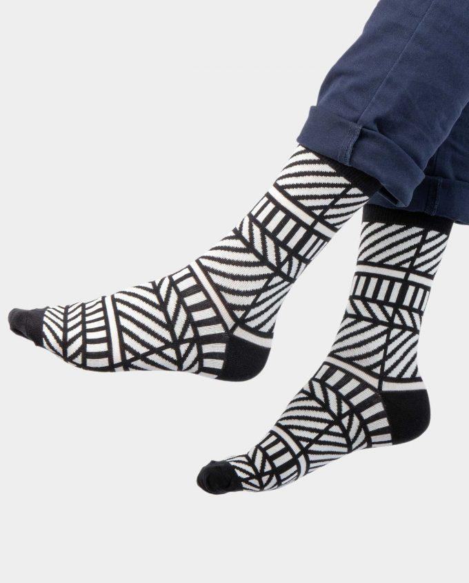 Monochrome kojinės, ant koju kvepiančios spalvotos kojinės, OhSox