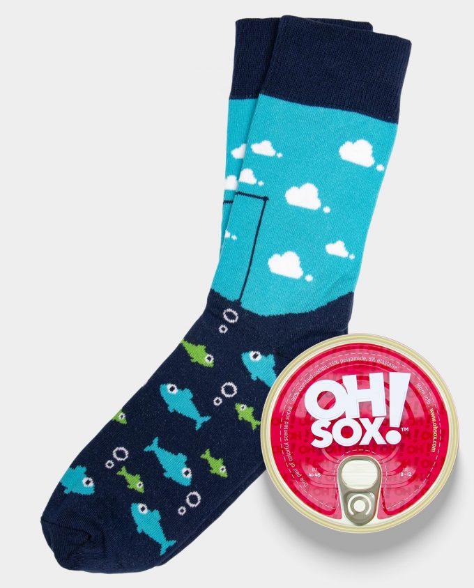 Oh Sox Colorful socks The Fisherman Socks kvepiančios kojinės