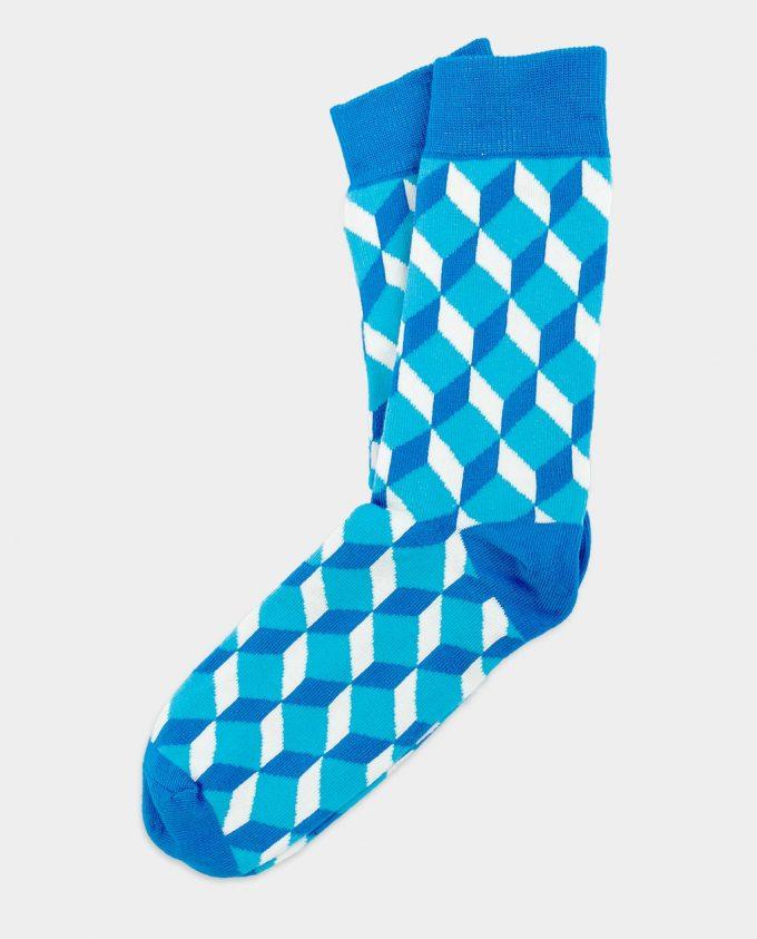 Oh Sox, spalvotos kojinės, Blue Cube