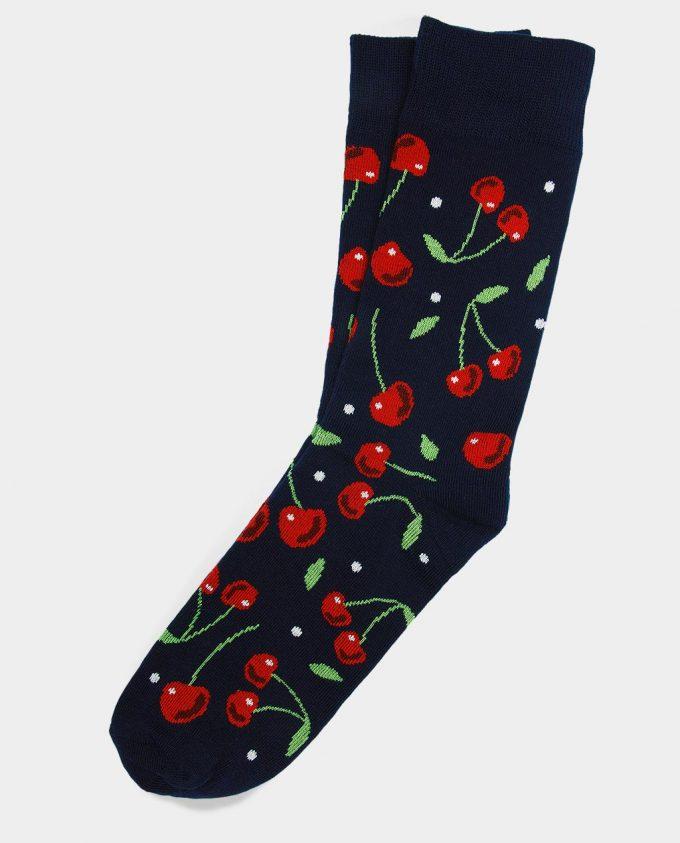 Oh Sox, spalvotos kojinės, raštuotos kojinės, Cherry