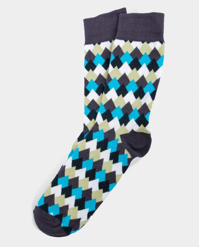 Oh Sox, spalvotos kojinės, raštuotos kojinės, Mountain Tops